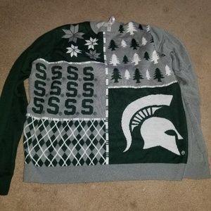 up state Michigan college sweater